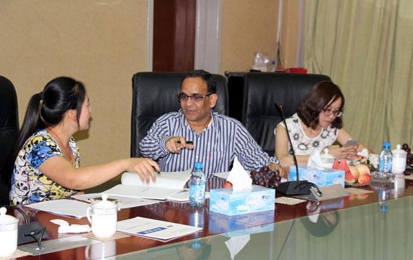 印尼外商与我公司达成初步合作意向