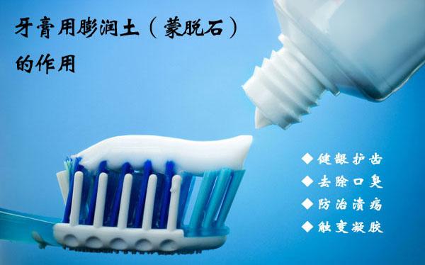 牙膏用蒙脱石